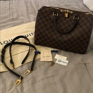 Louis Vuitton Speedy 30 with Bandouliere